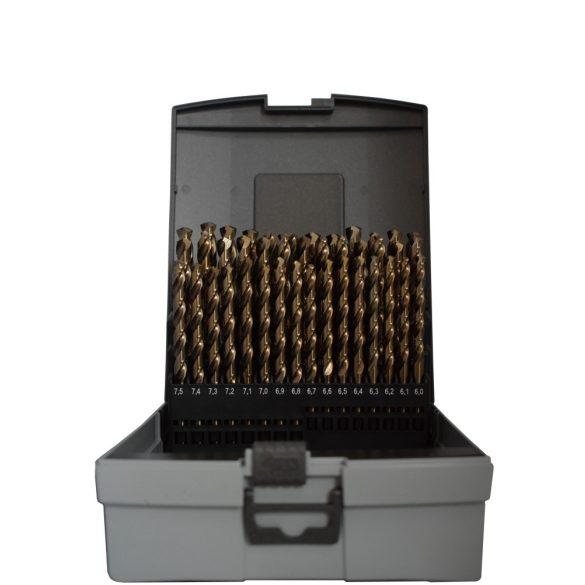 Kobalt fémcsigafúró készletek különböző csomagokban