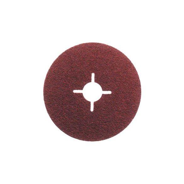 Fibertárcsa - fém, fa - 115, 125, 180 x 22mm, 16-120-as szemcseméretig