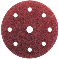Tépőzáras csiszolópapír 8+1 lyukú 150mm - 40-220-as szemcseméretig