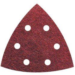 Tépőzáras csiszolópapír delta 94 x 94 mm - 40-240-es szemcseméretig