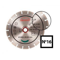 Univerzális gyémánttárcsa No16 - 115-350-as méretig