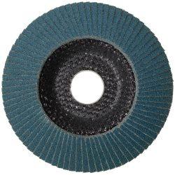 Lamellás csiszolótányér (rozsdamentes) - 115, 125-ös, 40-120mm-ig