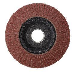 Lamellás csiszolótányér (fém, fa) - 115, 125-ös, 40-120mm-ig