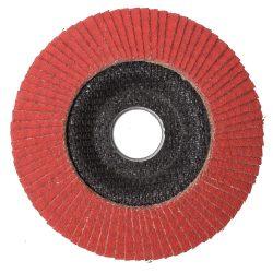 Lamellás csiszolótányér (rozsdamentes, titán, nikkel) - 115, 125-ös, 40-120mm-ig