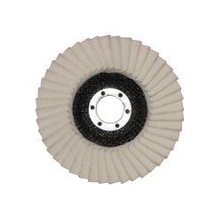 Filc polírozótányér - 115, 125-ös méretekben