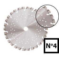 Turbo gyémánttárcsa No.4 - 125, 230, 300, 350 méretekben