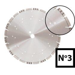 Gyémánttárcsa No.3 - 350, 400-as méretekben