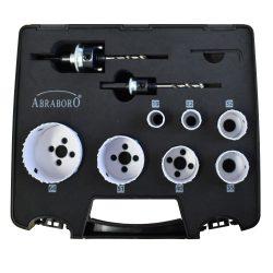 HSS-Co lyukfűrész készlet / Elektromos