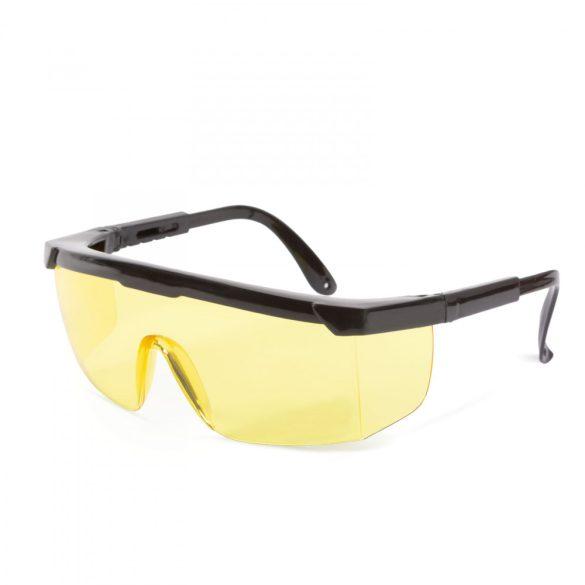 Professzionális védőszemüveg szemüvegeseknek, UV védelemmel - sárga