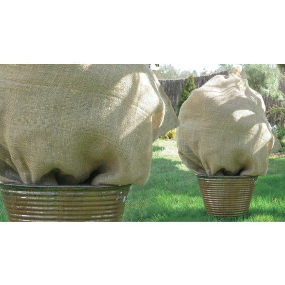 Juta átteleltető zsákok - barna, 1 x 1,1m