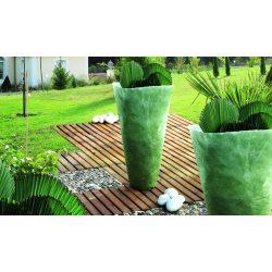 Dupla vastagságú átteleltető takaró szövet - zöld, 1 x 10m
