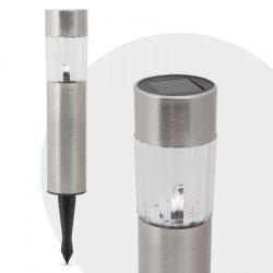 LED szolár lámpa - 20 cm - hidegfehér