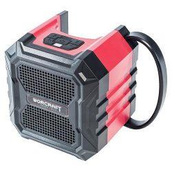 Worcraft Speaker CBTS-S20Li, 20V, Li-Ion, Bluetooth, AUX, Charger, 2x USB