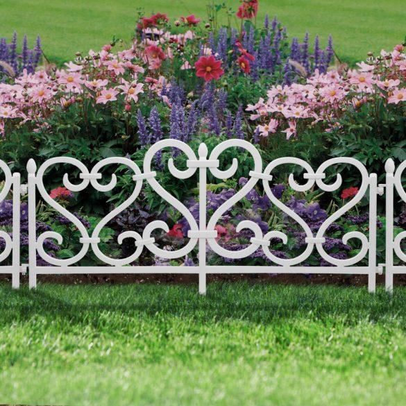 Virágágyás szegély / kerítés
