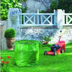 Többször használható kertilombgyűjtő zsák - zöld, 55cm x 75cm, 180 liter