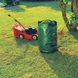 Erős, merev lombgyűjtő zsák - zöld, 0,50 x 0,75m, 150 liter