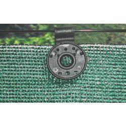 Rögzítőkapocs árnyékoló hálókhoz - UV álló - 15db/csomag, fekete