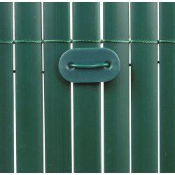 Kötöző - műanyag nádakhoz, árnyékoló hálókhoz - UV álló, zöld (26db/csom.)