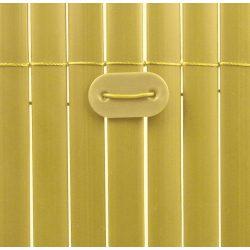 Kötöző - műanyag nádakhoz, árnyékoló hálókhoz - UV álló, bambusz (26db/csom.)