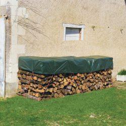 Fahasáb takaró vízhatlan ponyva - zöld, 1,5 x 6m