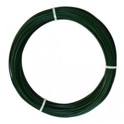 Műanyag bevonatos feszítődrót - zöld, 0,7/1,2mm x 50m