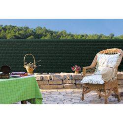 Sűrűn szőtt pálmaháncs árnyékoló háló - 1 x 3 m, zöld - 100%