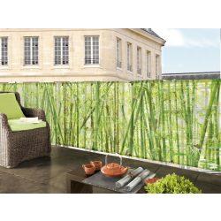 Bambuszmintás árnyékoló (prémium) - 1m x 3m - 85%