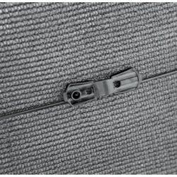 Rögzítőkapocs árnyékoló hálókhoz - UV álló - 20db/csomag, szürke