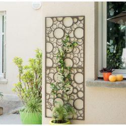 Dekorációs panel, buborék minta - barna, 0,6 x 1,5m