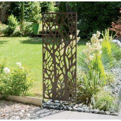 Dekorációs panel, faág minta - barna, 0,6 x 1,5m
