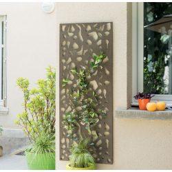 Dekorációs panel, dalmata minta - barna, 0,6 x 1,5m