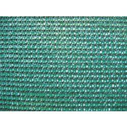 Szélfogó, UV álló magas minőségű árnyékoló - 1,5m x 50m, zöld - 80%