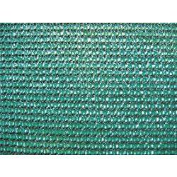 Szélfogó, UV álló magas minőségű árnyékoló - 1m x 10m, zöld - 80%