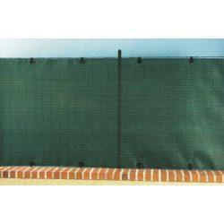 Prémium, extra erős árnyékoló - 1m x 5m, zöld - 95%