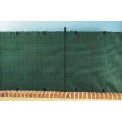Prémium, extra erős árnyékoló - 1 x 5 m, zöld - 95%