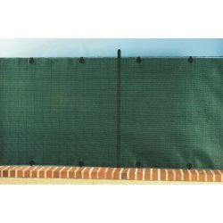 Prémium, extra erős árnyékoló - 2m x 10m, zöld - 95%