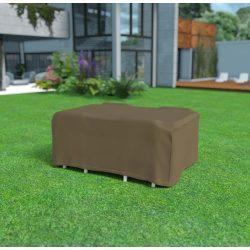 Covertop - Bútortakaró téglalap alakú kerti asztalhoz és négy kerti székhez