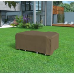 NORTENE Covertop - Bútortakaró téglalap alakú kerti asztalhoz és négy kerti székhez