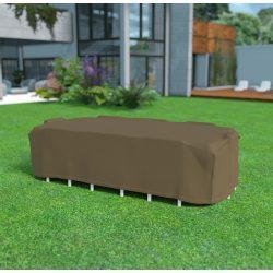 Covertop - Bútortakaró téglalap alakú kerti asztalhoz és nyolc kerti székhez