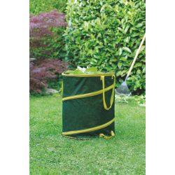 Felugró lombgyűjtő zsák - zöld 0,56 x 0,71m, 175 liter
