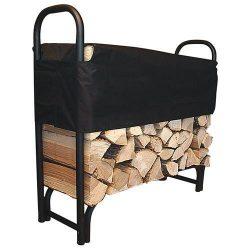 Tűzifa állvány vitorlával