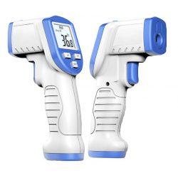 Érintés nélküli, emberi testhőmérő +32 ° C és +45 ° C között - digitális