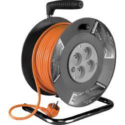 Hosszabító kábel dobon, 25-50m-es méretekben