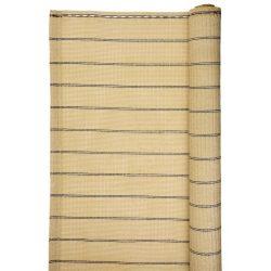 UV álló luxus árnyékoló háló 1 x 10 m - 185 g/m2 - bézs