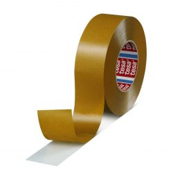 Tesa® PRO tape tesafix®, double-sided, foil, transparent, 30 mm, L-50 m