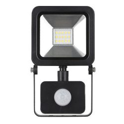 Reflektor LED AGP, 10W, 800 lm, IP44, mozgásérzékelős