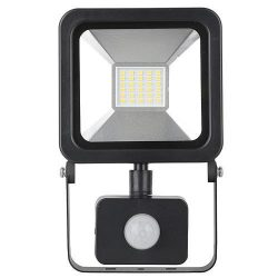 Reflektor LED AGP, 20W, 1600 lm, IP44, mozgásérzékelős