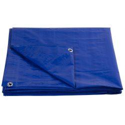 Tarpaulin Tarpaulin Standard 05x06, overlap, 80 g / m2, blue