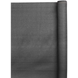 Árnyékoló háló 1 x 10 m - 230 g/m2 - antracit - 95%