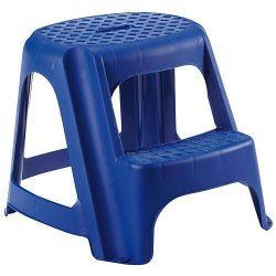 Stupadlo plastove, 2 stupne, 40 cm, modré, nos. 150 kg